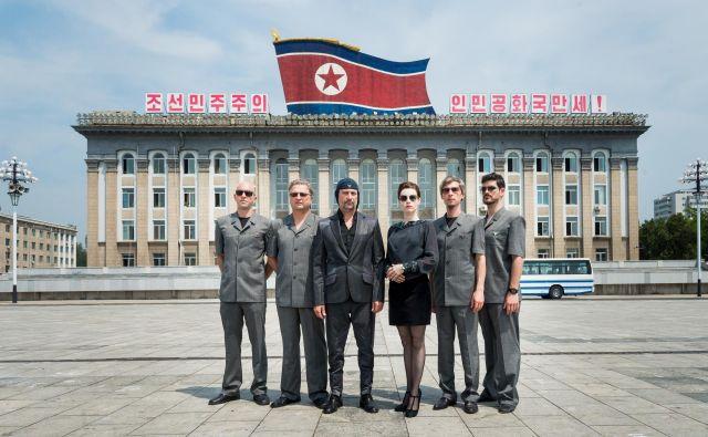 Laibach v Pjongjangu. FOTO: Jørund F. Pedersen