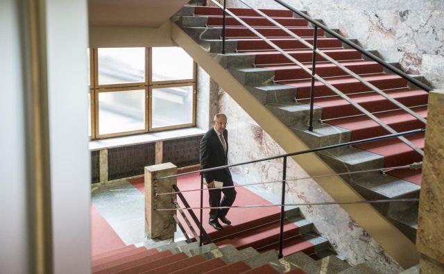 Novi standardi odstopanja so iz državnega zbora odnesli poslanca LMŠ Darija Krajčiča. FOTO: Voranc Vogel/Delo