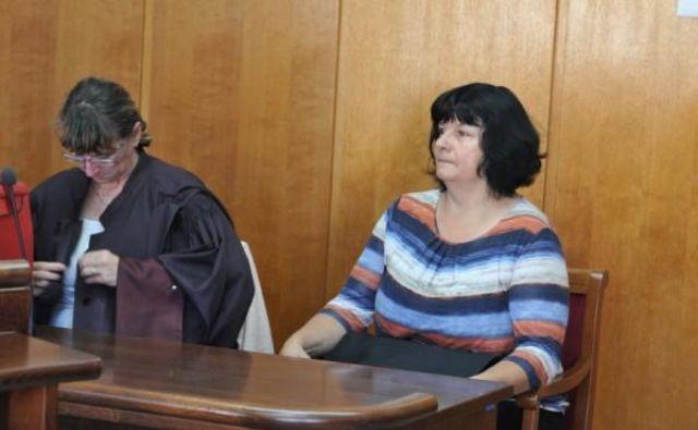 Tatjano Petek (na desni) je zastopala odvetnica Vesna Zakeršnik, SB Murska Sobota pa odvetniška pisarna Mira Senice. Foto: Oste Bakal/Slovenske novice
