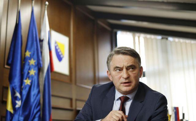 Željko Komšić, član predsedstva Bosne in Hercegovine. FOTO: Leon Vidic/Delo
