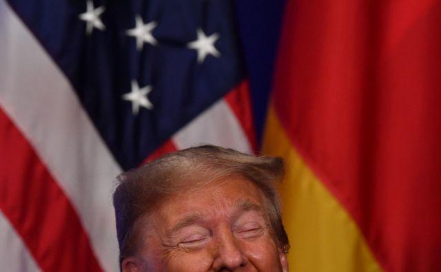 Donald Trump FOTO: Nicholas Kamm/AFP