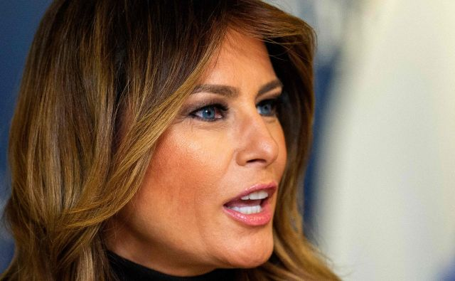 Prva dama Melania Trump. FOTO: Joseph Prezioso/AFP