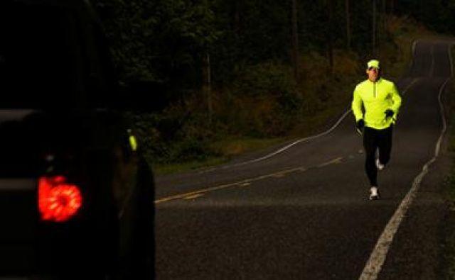 Ko si delite cesto z avtomobili, morate biti zbrani ne samo na dihanje in na ritem teka, temveč tudi na promet. Foto: Shutterstock/Chase Jarvis