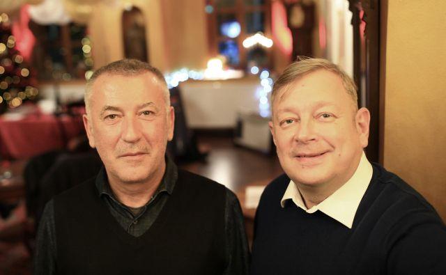 Ivica Buljan in Robert Waltl FOTO: Tomi Lombar