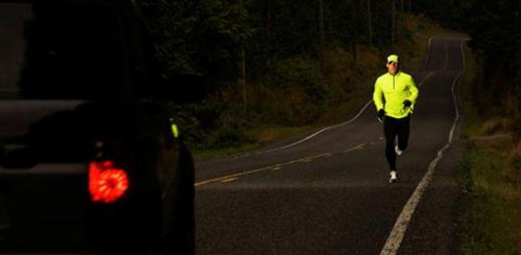 Tekači pozor: tecite proti prometu, ne z njim