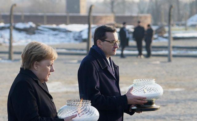 27. januarja bo minilo 75 let, odkar je Auschwitz osvobodila rdeča armada. FOTO: Janek Skarzynski/AFP