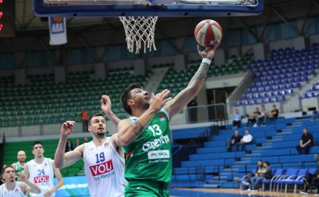Andrija Stipanović in soigralci so v tej sezoni že dvakrat ugnali Budućnost. Foto ABA