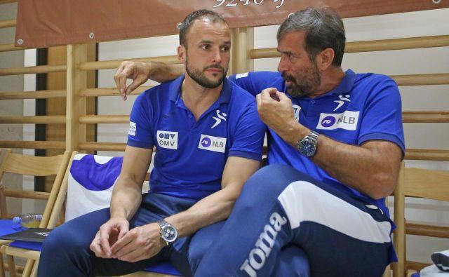 Uroš Zorman in Veselin Vujović se nista vedno strinjala, sta se pa vedno spoštovala. FOTO: Tadej Regent