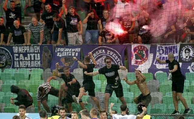 Zadnji derbi sezone bo v 30. kolu v Stožicah, kjer je Maribor jeseni premagal Olimpijo s 4:2. FOTO: Roman Š�ipić/Delo