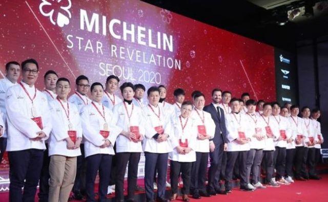 Tudi v Seulu so razglasili letošnje dobitnike Michelinovih zvezdic. FOTO: arhiv Michelin