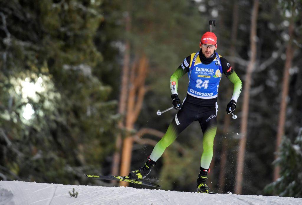 FOTO:Slovenski biatlonci sedmi, zmaga Norvežanom