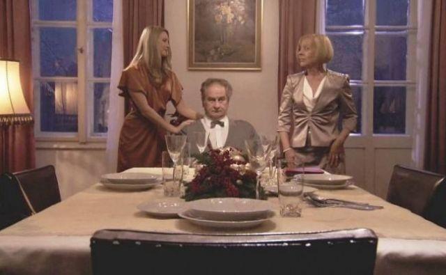 Božična večerja Foto TVS