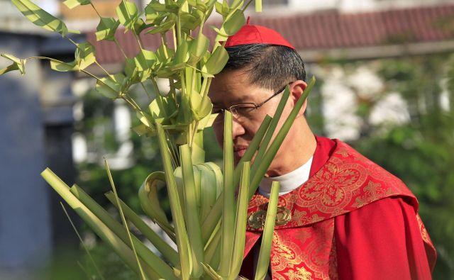 62-letnik je eden najmlajših kardinalov v katoliški cerkvi. FOTO: Romeo Ranoco/Reuters