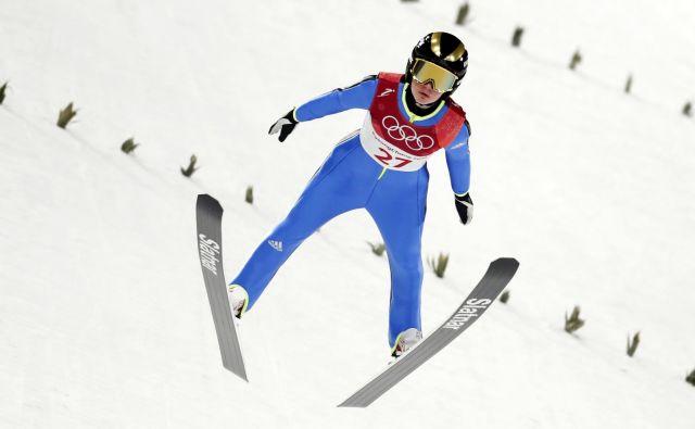 Ema Klinec je bila v Lillehammerju še drugič četrta. FOTO: Matej Družnik
