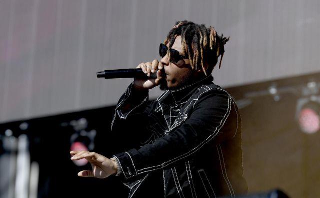 Raper Juice Wrld sodi v generacijo mladih glasbenikov, ki so zasloveli s pomočjo pretočnih kanalov za glasbene vsebine, kot je soundcloud. FOTO: Bryan Steffy/AFP