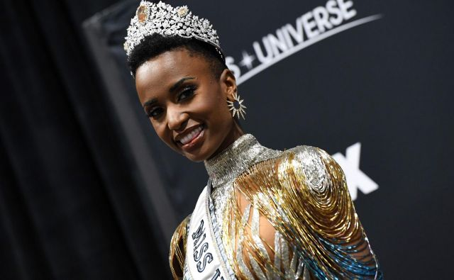 Zozibini Tunzi je nova mis universe. FOTO: Valerie Macon/AFP