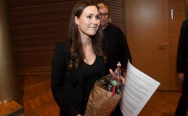Pod Sanno Marin menda ni pričakovati velikih preobratov, zato pa bolj uresničevanje predvolilnih socialdemokratskih obljub. FOTO: Vesa Moilanen/AFP