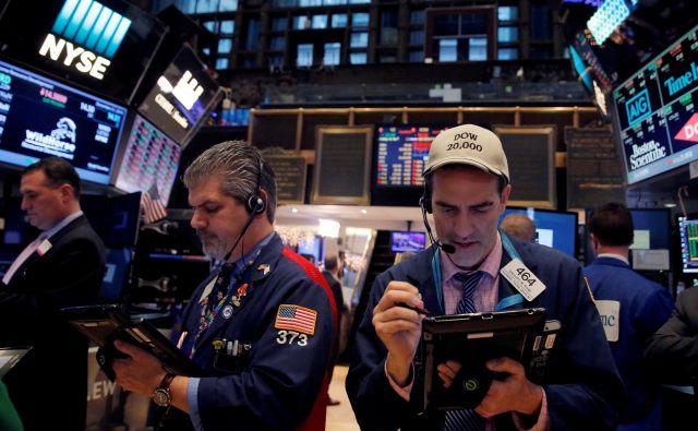Ponovna krepitev optimizma na delniških trgih je očitna. FOTO: Reuters