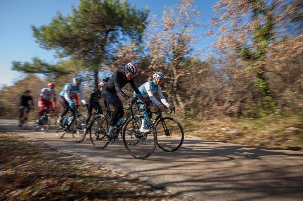 FOTO:Ne samo angeli, tudi kolesarji vedo, kako je v raju