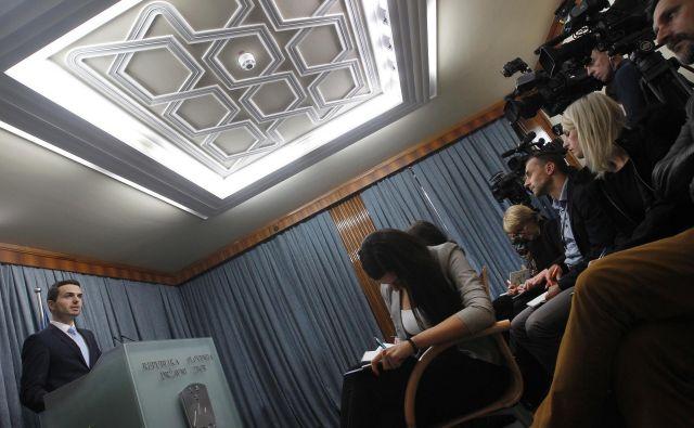 Od pričanj so po besedah predsednika Knovsa Mateja Tonina (NSi) odvisni tudi nadaljnji postopki parlamentarne komisije. FOTO: Mavric Pivk/Delo