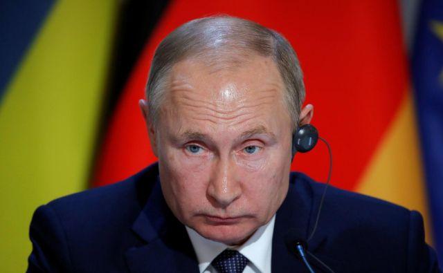 Predsednik Vladimir Putin pravi, da se bo Rusija na prepoved pritožila mednarodnemu športnemu razsodišču. FOTO: AFP