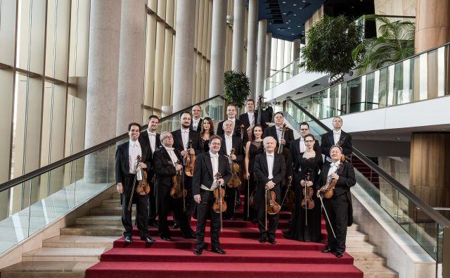 Komorni orkester Franza Liszta Foto Mudra László