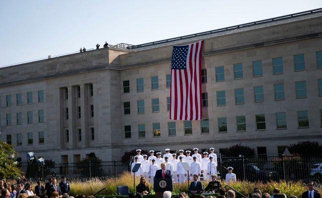 Pentagon za vojne v prihodnosti – te bodo drugačne od sedanjih – potrebuje pomoč ameriških tehnoloških velikanov. Foto Reuters