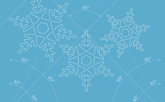 Voda je zelo nenavadna, to pa je tudi razlog za lepoto snežink. FOTO: Shutterstock