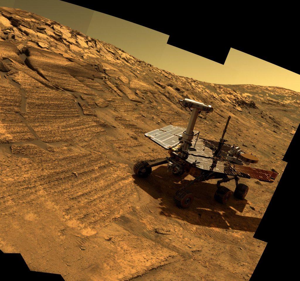 FOTO:Avtonomno vozilo, ki je po Marsu prevozilo maratonsko razdaljo