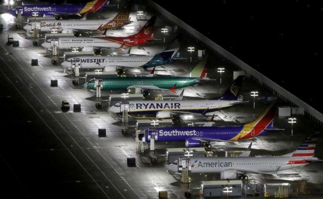 Prihodnje leto naj bi v zrak znova poleteli boeingi 737 max. Foto Reuters