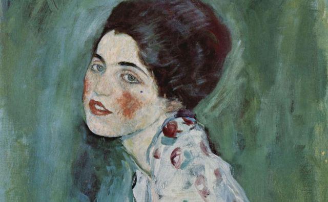 <em>Portret gospe</em> Gustava Klimta je 22 let veljal za eno najbolj iskanih ukradenih slik na svetu. FOTO: Wikipedia