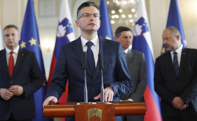Državni vrh je glede vztrajanja pri uresničevanju arbitražbe razsodbe enoten. FOTO: Leon Vidic/Delo