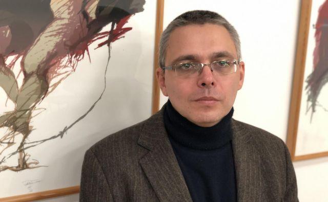 György Dragomán, madžarski pisatelj FOTO: Aljaž Vrabec