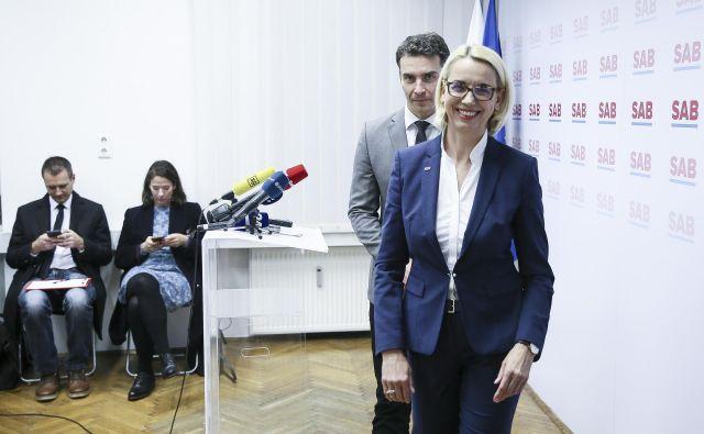 Kandidatka je prejšnji teden tudi uradno vložila vlogo za slovensko državljanstvo. FOTO: Jože Suhadolnik/Delo