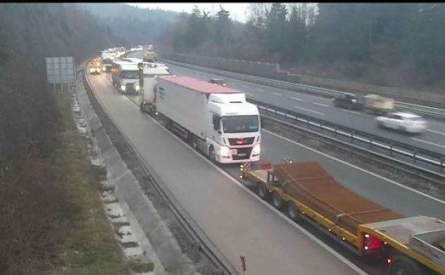 Avtocesta Ljubljana–Koper, viadukt Verd v smeri proti Kopru. FOTO: Promet.si
