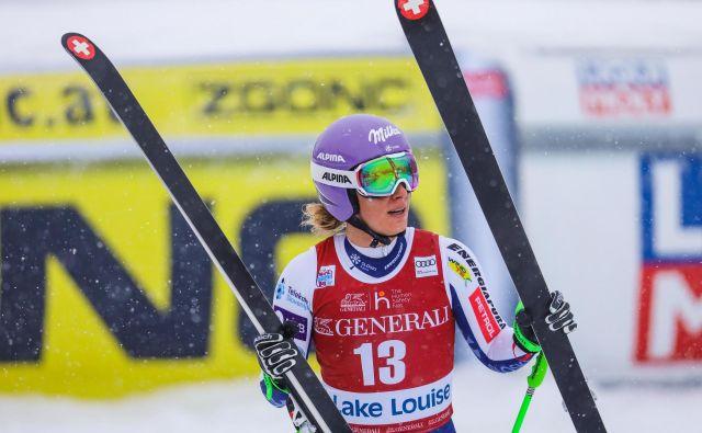Ilka Štuhec je v St. Moritz s seboj vzela dobre občutke s superveleslalomske tekme v Kanadi. FOTO: Usa Today Sports