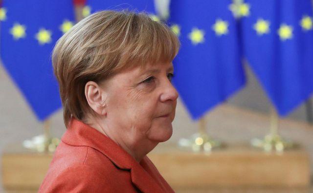 Nemška kanclerka Angela Merkel FOTO: Yves Herman/Reuters
