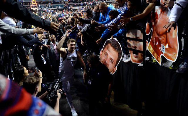 Mehičani so sprejeli Luko Dončića z navdušenjem in odprtimi rokami. Foto USA Today Sports