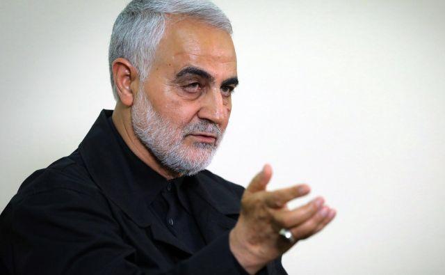 Kasem Solejmani je bil ključni vojaški akter pri uveljavljanju interesov Irana zunaj države. FOTO: AFP