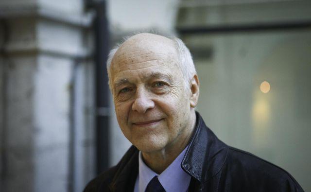 Francoski politolog Jacques Rupnik Foto Jože Suhadolnik
