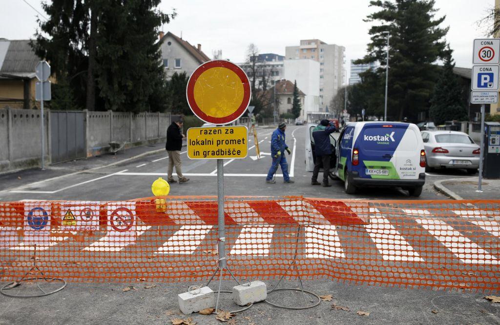FOTO:Križi in težave ljubljanskega prometa