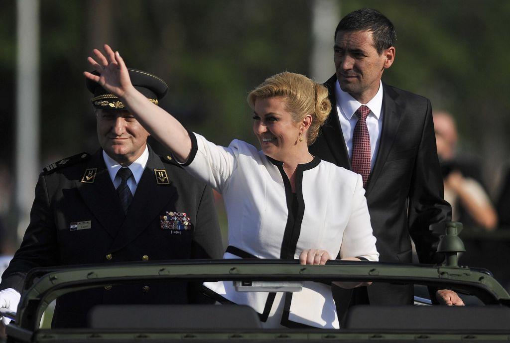 Pesniški življenjepis hrvaške predsednice