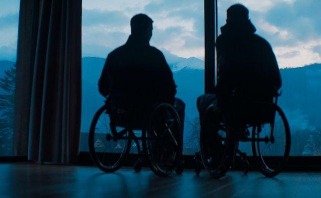 Športnika invalida imata jasen cilj: osvojiti Himalajo. FOTO: Huawei