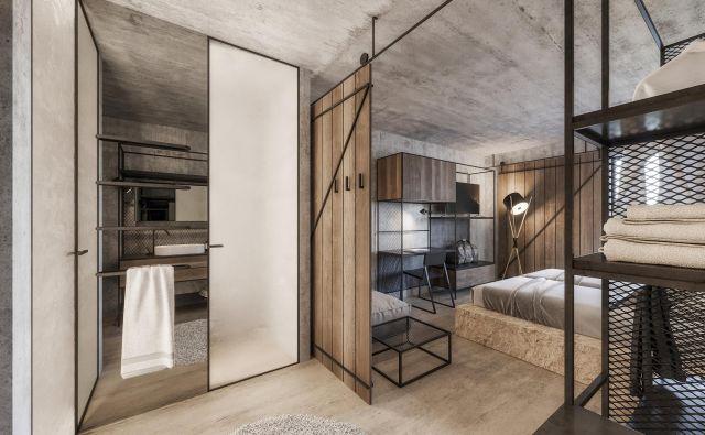 »Poudarek na udobju sicer v celoviti ideji hotela ni tako pomemben, v ospredje smo postavili praktičnost, za katero smo ocenili, da je pomembnejša za sodobnega gosta,« meni arhitekt Tomac.