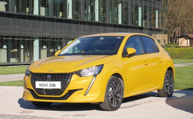 Peugeot 208 lahko vozi z bencinskim, dizelskim ali električnim motorjem. Foto Boštjan Okorn