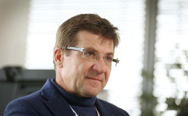 Dejan Turk, predsednik uprave A1 in VIP mobile: Pripravljeni smo na naložbo v 5G v Sloveniji in v Srbiji. Foto Leon Vidic