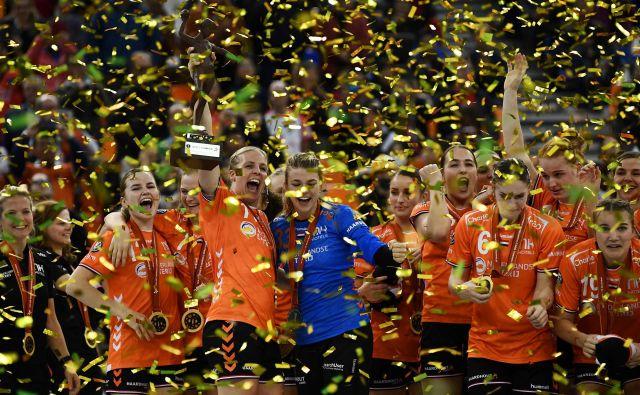 Nizozemska je prvič stopila na vrh. FOTO: AFP