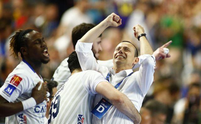 Patrice Canayer je lani drugič popeljal Montpellier do naslova v ligi prvakov. FOTO: Reuters