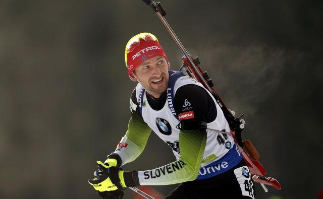 Jakov Fak ima za to sezono visoke cilje. FOTO: Matej Družnik/Delo