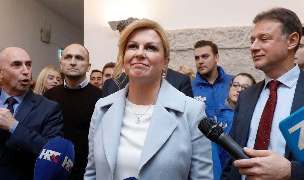 Hrvaška v prvem krogune bo dobila novega šefa države